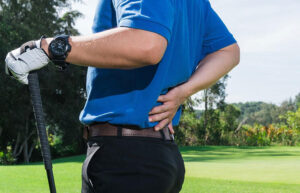 physical therapy for back pain with golfing