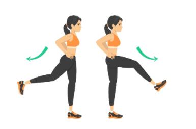 hip swings