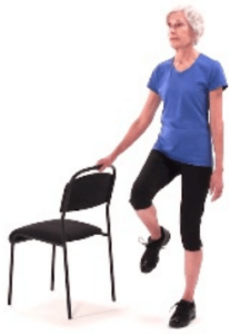single limb balance